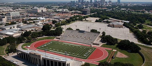 Fort Worth Texas Football Stadiums – aerials