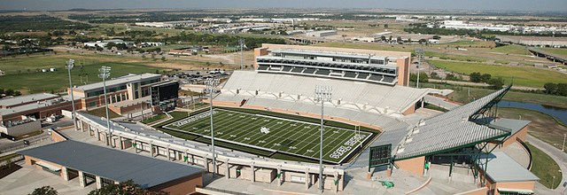 UNT Apogee stadium aerials | Dallas Editorial Photography