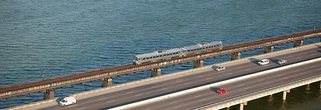 A train aerial advertising photography – Dallas to Denton