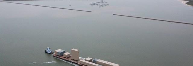 Galveston Bay Barge