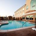 A pretty hotel pool