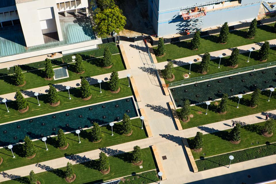 Garden State Plaza Ariel Shots