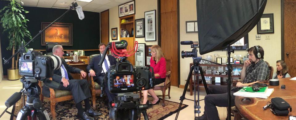 videografía en Dallas / Fort Worth corporativo y comercial, incluyendo entrevistas y eventos