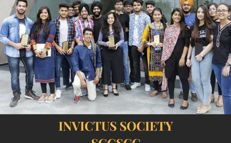 INVICTUS – THE FILM AND PHOTOGRAPHY SOCIETY of SGGSCC