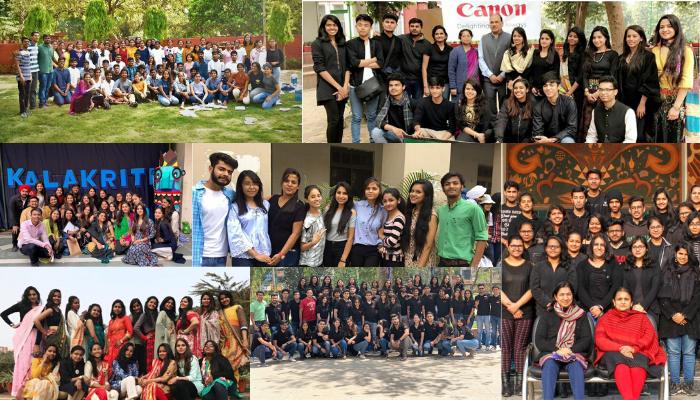 Top 10 Fine Arts societies of Delhi University