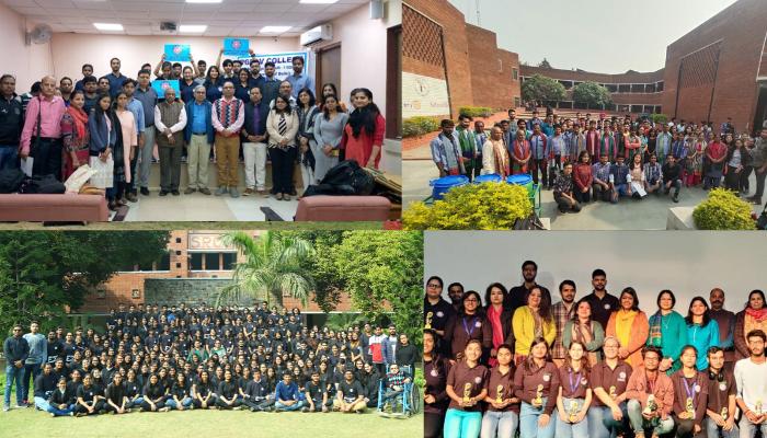 Top 5 NSS Cells of Delhi University 2019-20