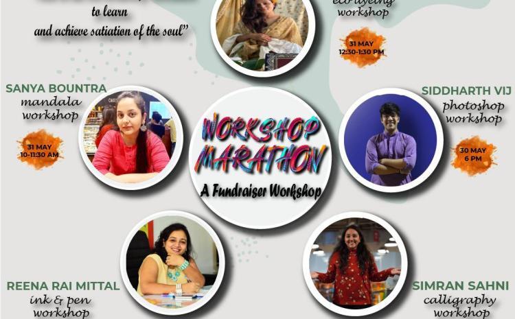 Fine Arts Society from SRCC Initiating a 'Workshop Marathon' – A Fundraiser