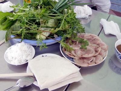 Đặc sản Tây Ninh - Bánh tráng phơi sương Trảng Bàng - Muoi tom