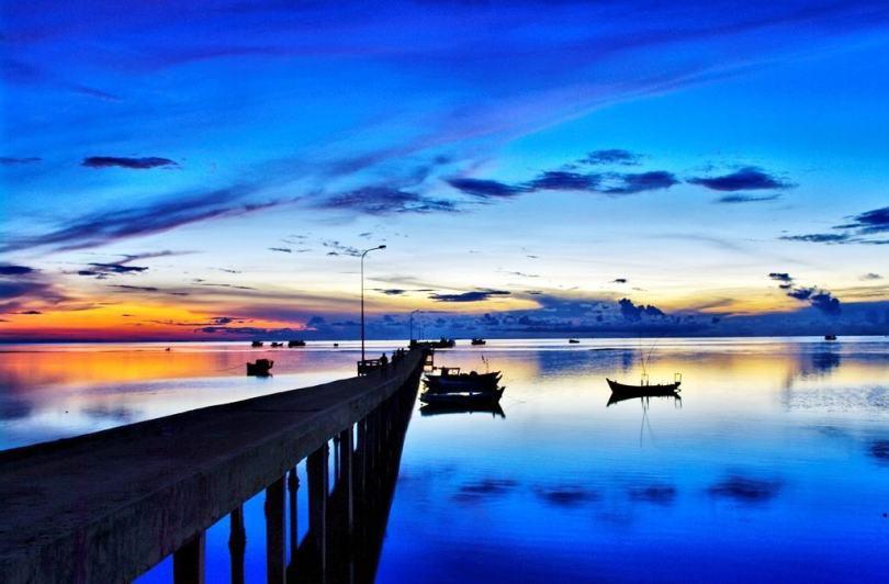 Biển Hàm Ninh ở Phú Quốc