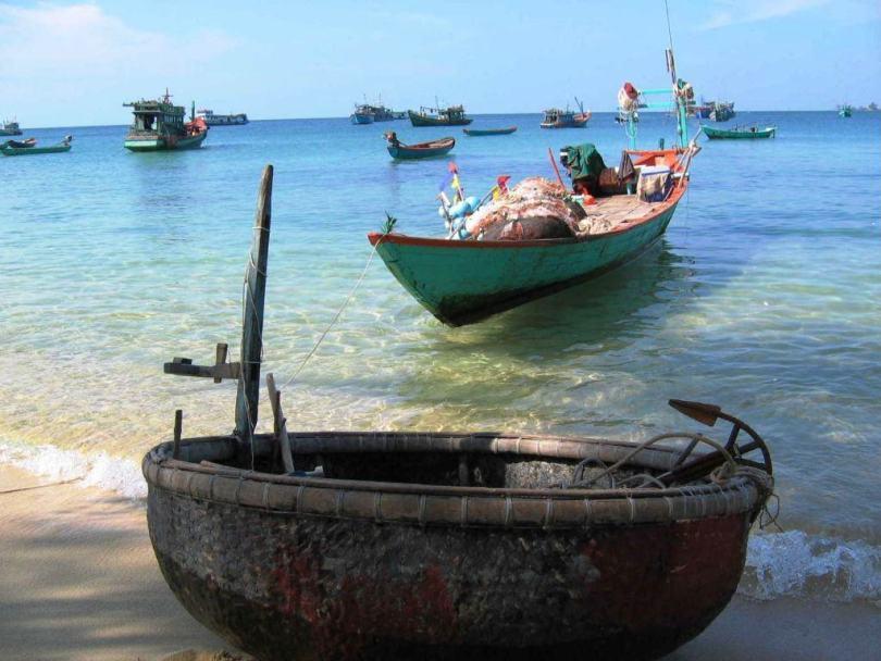 Hình ảnh làng chài Hàm Ninh Phú Quốc Kiên Giang