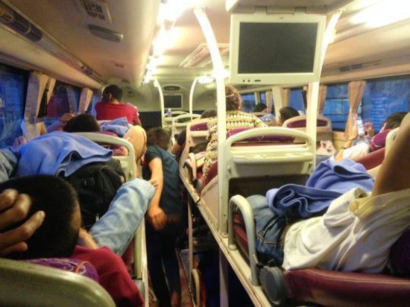 Hình ảnh xe khách chất lượng cao Hà Nội Sapa