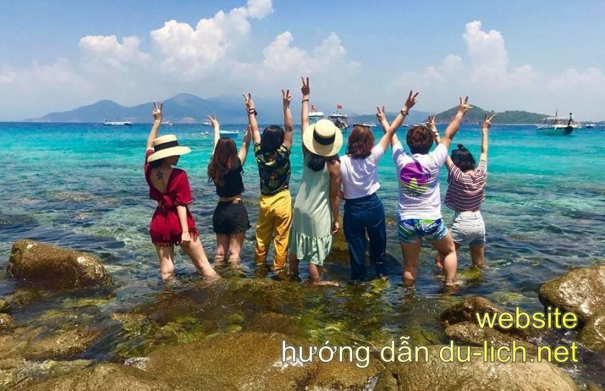 Hình ảnh đảo Con Sẻ Tre Nha Trang