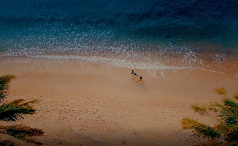 Hình ảnh các bãi biển ở Hòn Thơm