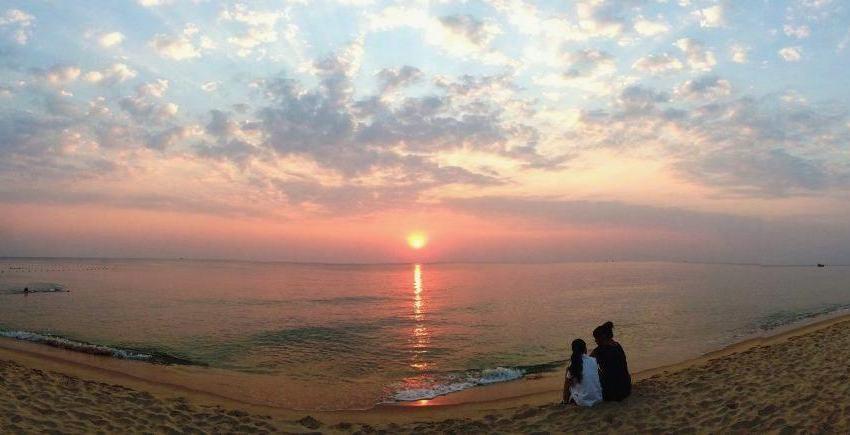 Hình ảnh hoàng hôn trên biển Phú Quốc