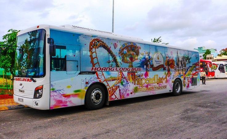 Hình ảnh xe bus Vinpearl Phú Quốc