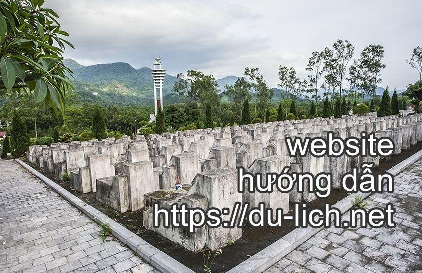 Hình ảnh nghĩa trang liệt sỹ Vỵ Xuyên ở tỉnh Hà Giang