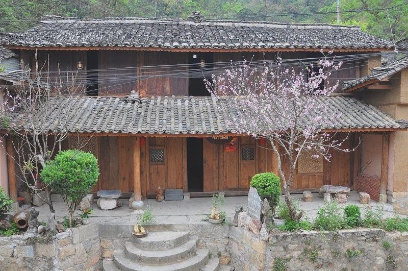 Hình ảnh homestay nhà cổ Đồng Văn của chú Thân. Ảnh xukien