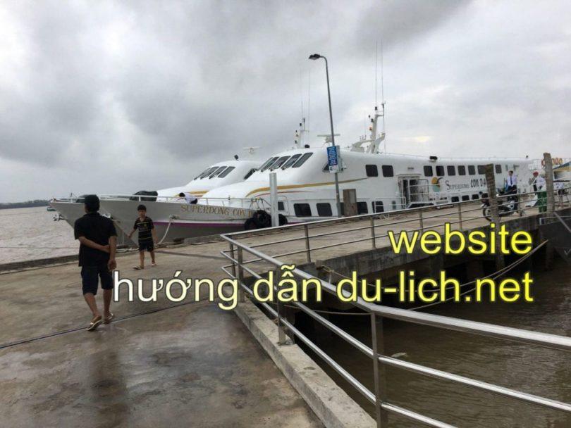 Hình ảnh cảng Trần Đề Sóc Trăng để bắt tàu đi Côn Đảo