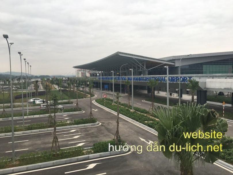 Từ sân bay Vân Đồn, bạn phi thẳng về trung tâm, có rất nhiều khách sạn