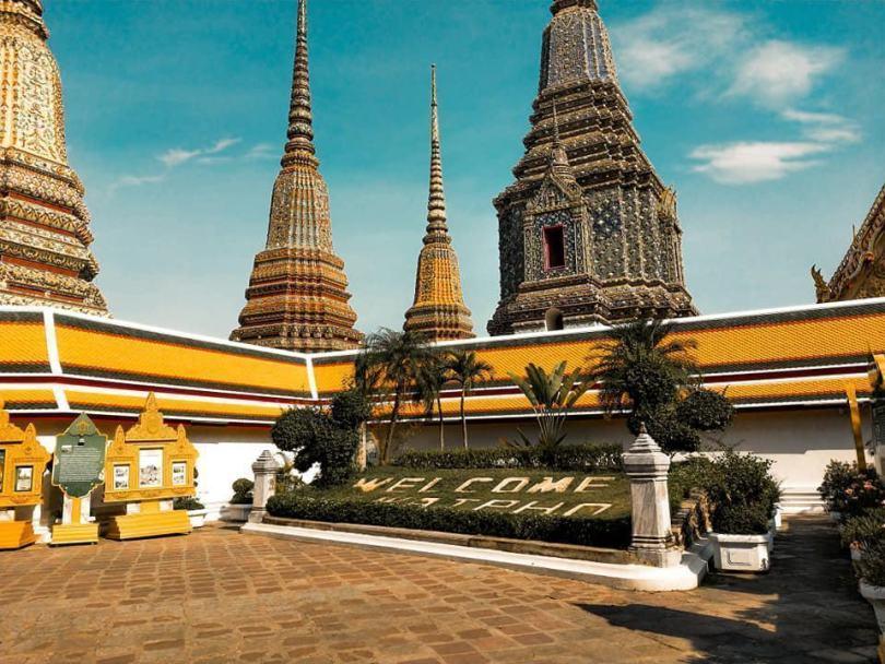 Hình ảnh chùa Wat Pho