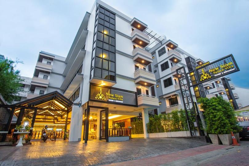 Khách sạn tại khu Khaosan mà mình đã ở