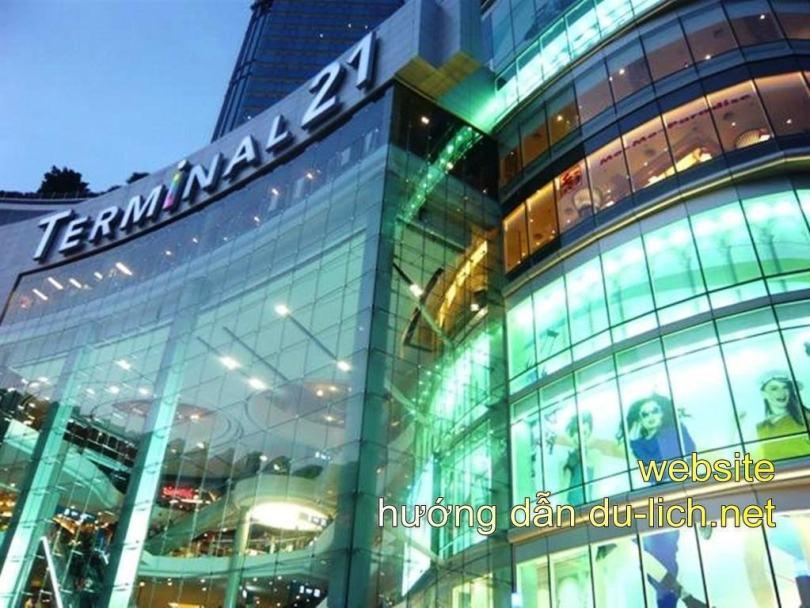 Trung tâm thương mại Terminal 21 ở Bangkok (Thái Lan)