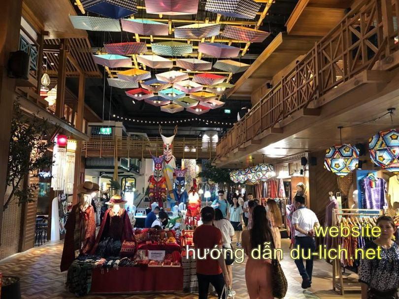 Khu ẩm thực + sống ảo của Icon Siam ở tầng G