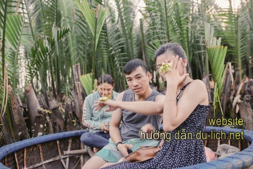 """Review đi Đà Nẵng Hội An cho gia đình:  được nghe nhạc, xem """"quẩy thúng"""" trên rừng dừa Bảy Mẫu"""