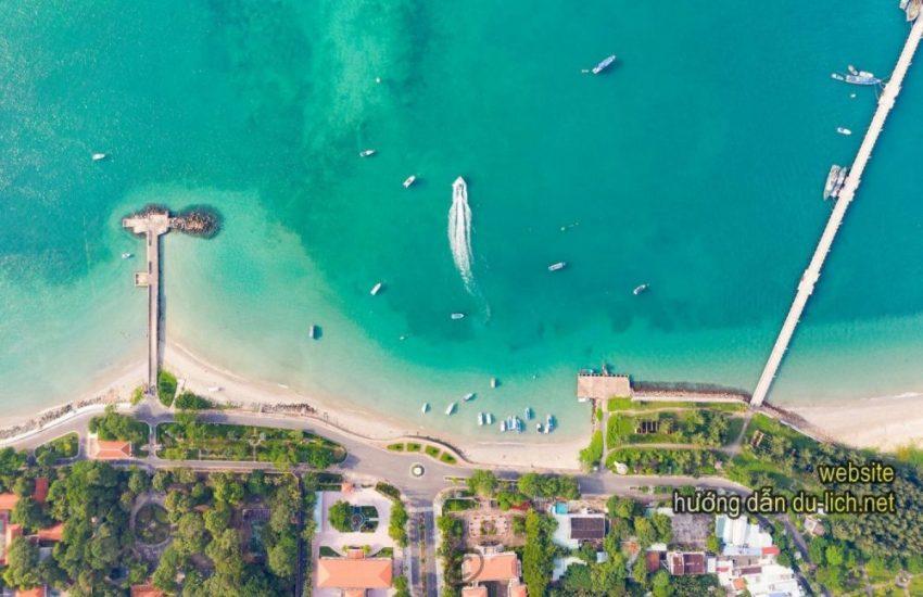 Bản đồ cầu tàu 914 Côn Đảo