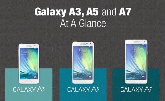 Harga Samsung Galaxy A3 A5 A7 A8 Kamera Depan 5mp Hp