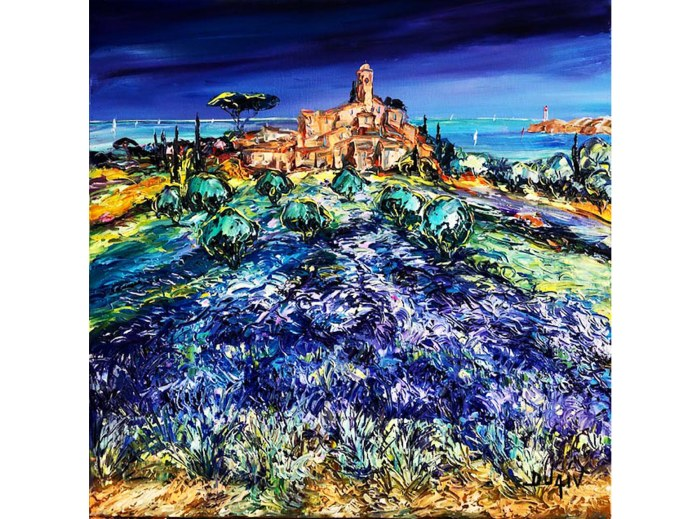 Lavender Journey 27 1/2'' x 27.5''