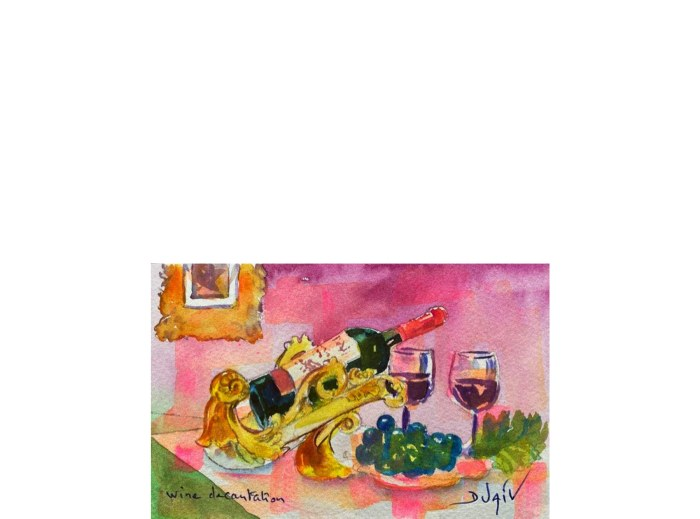 Wine Degustation 4.5'' x 7''