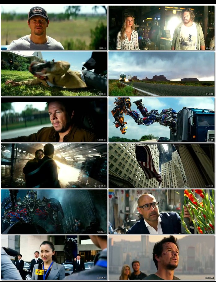Transformers 4 Age of Extinction 2014 Dual Audio 480P BluRay