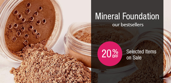 Mineral Foundation shop selected items on sale