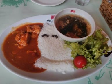 Tokyo Moomin Cafe - Meal