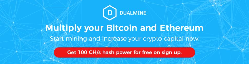 Dualmine.com Multiple your Bitcoin & Ethereum