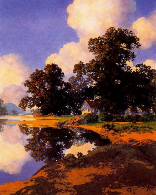 Maxfield Parrish  dual personalities