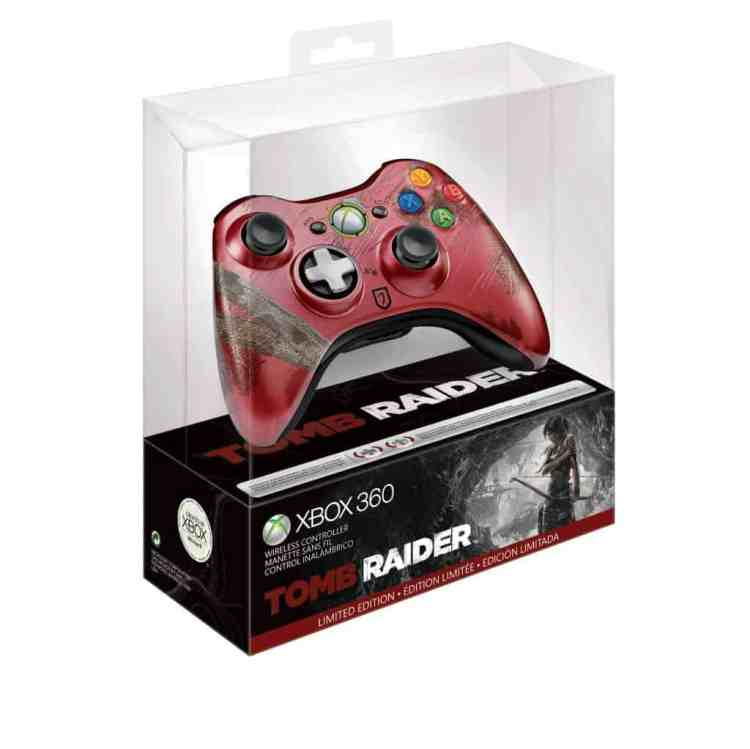 Tomb Raider-Xbox-360-Limited-Controller