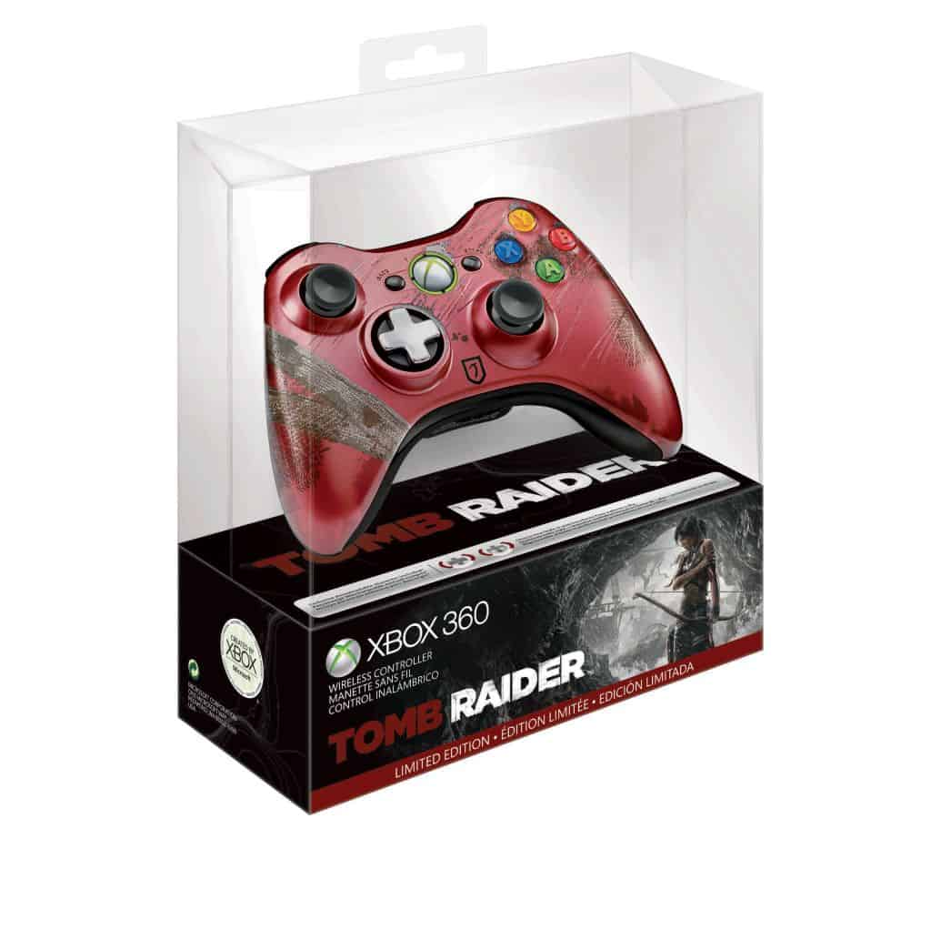 Tomb Raider Gets Limited Edition Xbox 360 Controller
