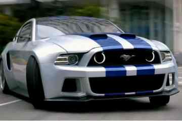 Snap shot of the cutting-edge Ford Mustang from Need for Speed (2014), released this passed March to a good acclaim.