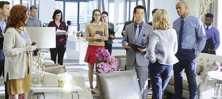 """""""Bizarro"""" --Kara (Melissa Benoist, center) grows closer with Cat's son, Adam, on SUPERGIRL, Monday, Feb. 1 (8:00-9:00 PM) on the CBS Television Network. Also pictured: Mehcad Brooks (right) Photo: Monty Brinton/CBS ©2015 CBS Broadcasting, Inc. All Rights Reserved"""