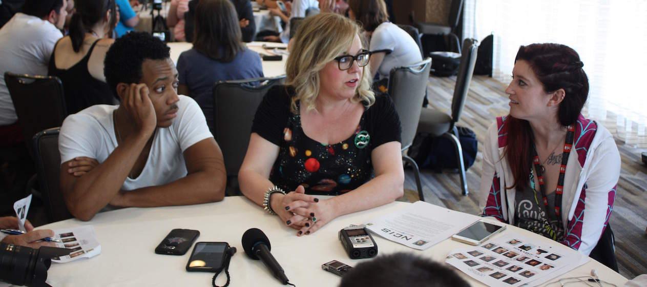 Criminal Minds Roundtable Interview with Kirsten Vangsness