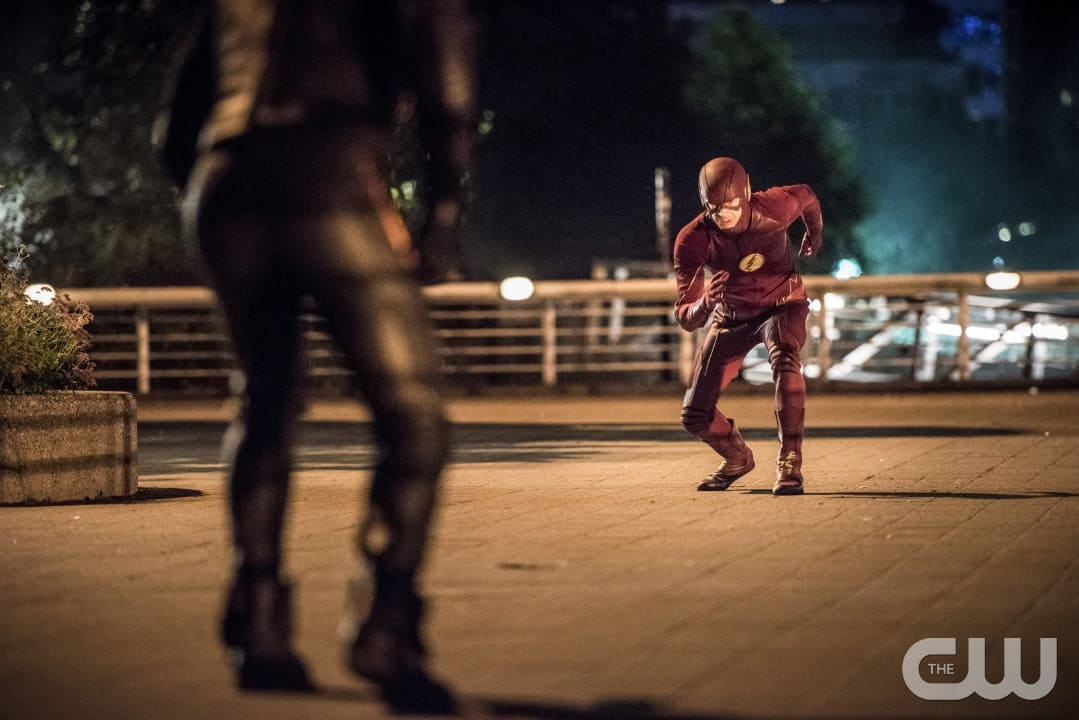 """The Flash -- """"Paradox"""" -- Image: FLA302a_0333b2.jpg -- Pictured: Grant Gustin as The Flash -- Photo: Dean Buscher/The CW -- © 2016 The CW Network, LLC. All rights reserved."""