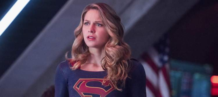 """Supergirl -- """"The Martian Chronicles"""" -- Image SPG211a_0305 -- Pictured: Melissa Benoist as Kara/Supergirl -- Photo: Dean Buscher/The CW -- © 2017 The CW Network, LLC. All Rights Reserved"""