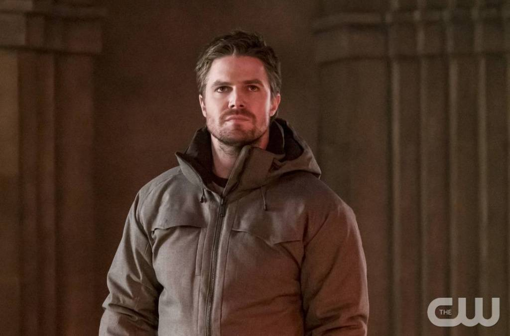 "Arrow -- ""Checkmate"" -- Image AR516a_0171b.jpg -- Pictured: Stephen Amell as Oliver Queen -- Photo: Katie Yu/The CW -- © 2017 The CW Network, LLC. All Rights Reserved."
