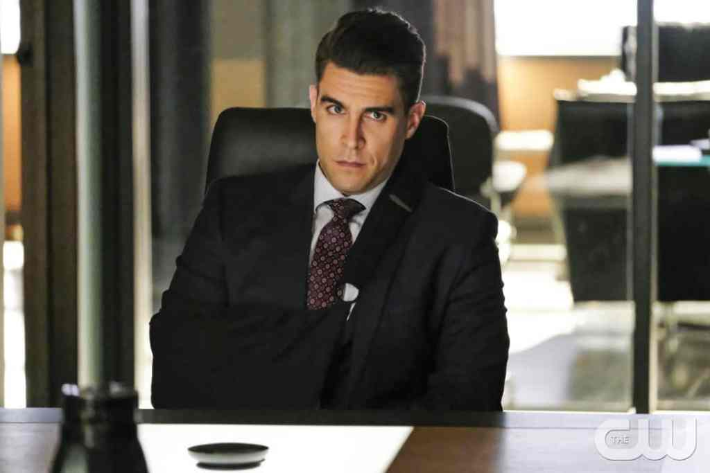 """Arrow -- """"Disbanded"""" -- Image AR518a_0404b.jpg -- Pictured: Josh Segarra as Adrian Chase -- Photo: Bettina Strauss/The CW -- © 2017 The CW Network, LLC. All Rights Reserved."""