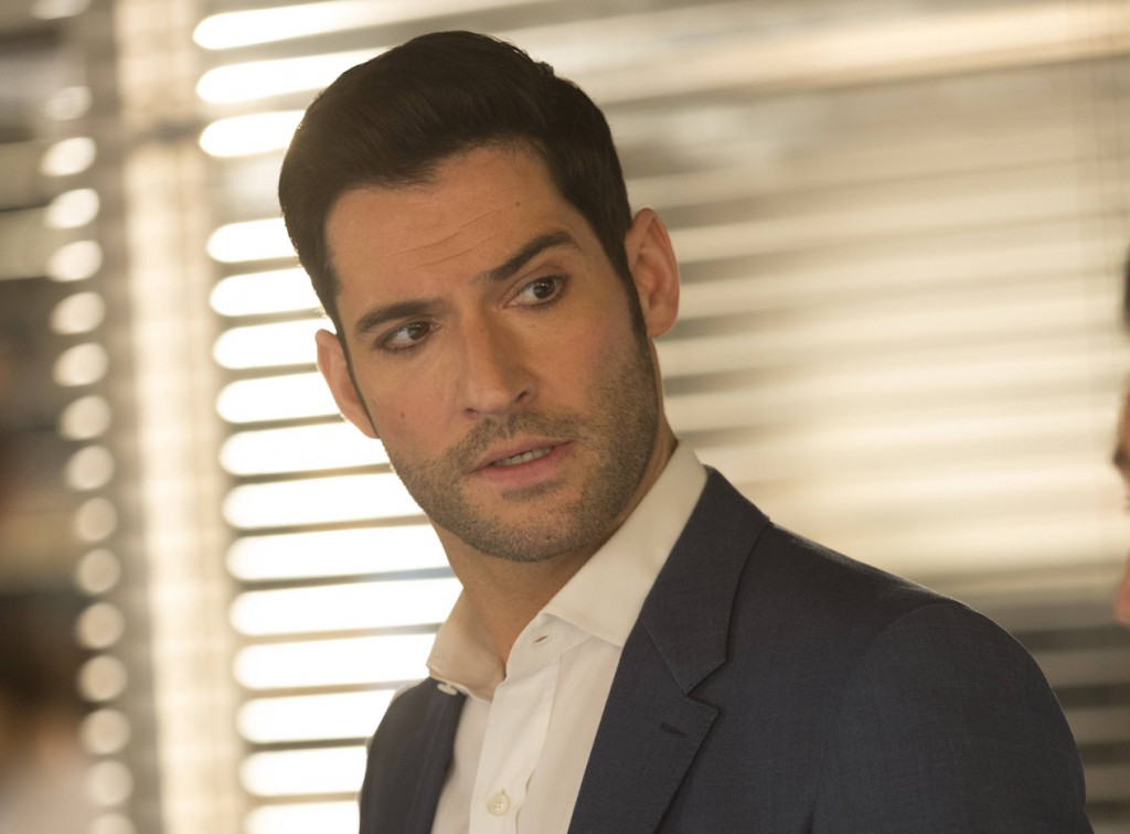 """LUCIFER: Tom Ellis in the """"Sympathy for the Goddess"""" episode of LUCIFER airing Monday, May 22 (9:01-10:00 PM ET/PT) on FOX. Cr: Michael Courtney/FOX"""