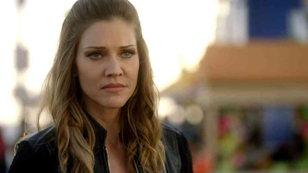 "LUCIFER: Tricia Helfer in the ""The Good, the Bad and the Crispy"" season finale episode of LUCIFER airing Monday, May 29 (9:01-10:00 PM ET/PT) on FOX. Cr: FOX"