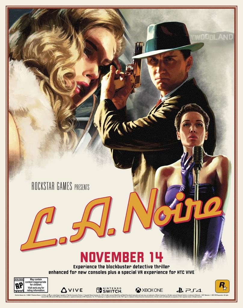 LA Noire Announcement Poster