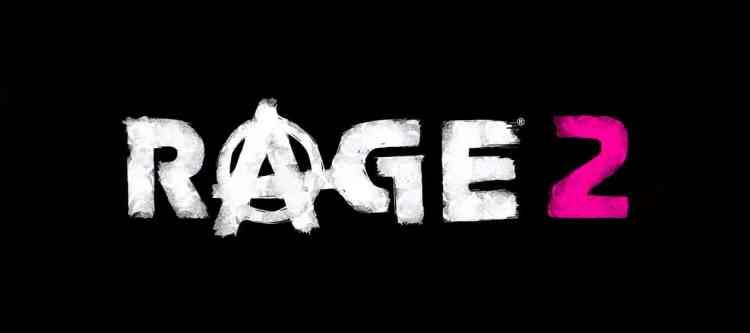 Rage 2 title logo